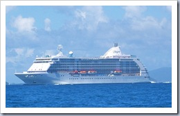 Cruise Ship in BVI