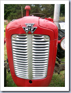 Tractor grill