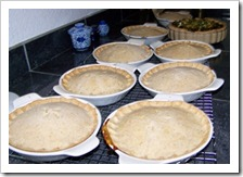 Baked pot pies