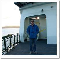 Rich on ferry