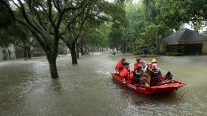 Hurricane Harvey, flooding in Houston