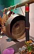 Large gongs in gamelan