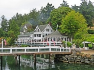 One of the restaurants at Roche Harbor