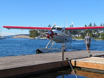 Float dock at Roche Harbor