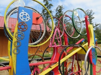 Recycle bicycle parts