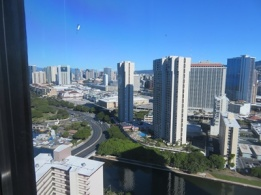 View from 39th floor of Marina Tower Waikiki
