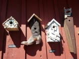 Funky bird house at the Whidbey Island Fair