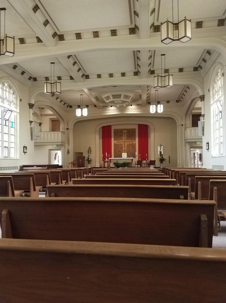 image of chapel at Providence Mount St. Vincent on rajalary