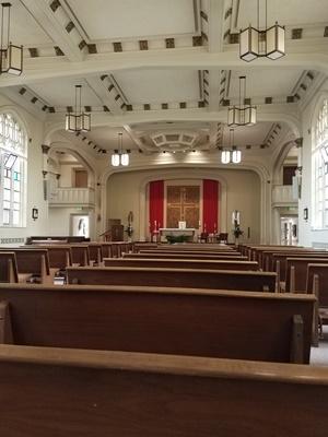 rajalary, julie lary, Providence Mount St. Vincent chapel
