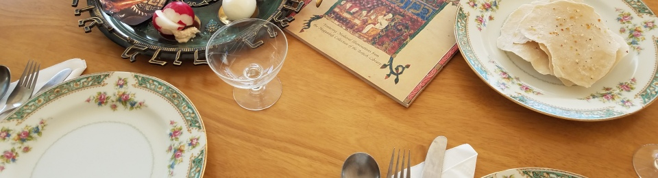 julie lary, scribbles, richard lary, passover, matzah