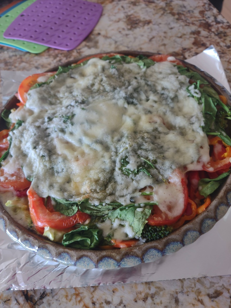 julie lary, scribbles writing, rajalary, ugly veggie quiche