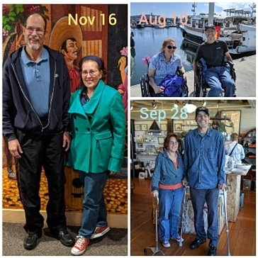 rajalary, Julie and Richard Lary